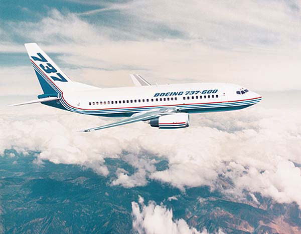 Demand for aerospace composites increase with commercial aircraft production, like the Boeing B737